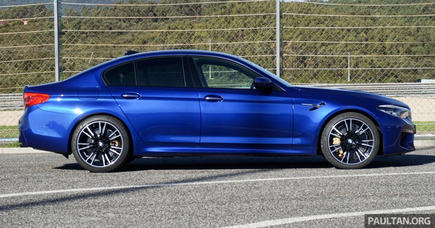 DRIVEN: F90 BMW M5 review – the quintessential Image #746180