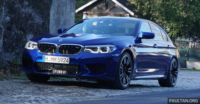 DRIVEN: F90 BMW M5 review – the quintessential Image #746239
