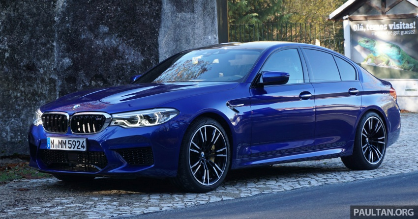 DRIVEN: F90 BMW M5 review – the quintessential Image #746242