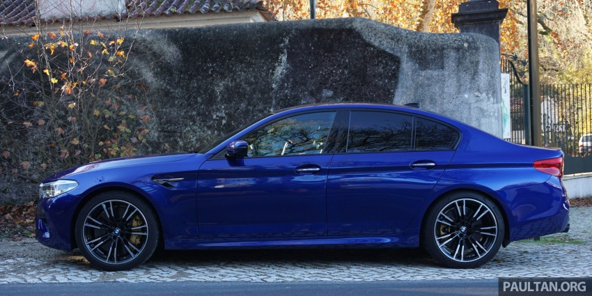 DRIVEN: F90 BMW M5 review – the quintessential Image #746243