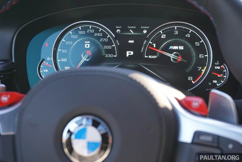 DRIVEN: F90 BMW M5 review – the quintessential Image #746248
