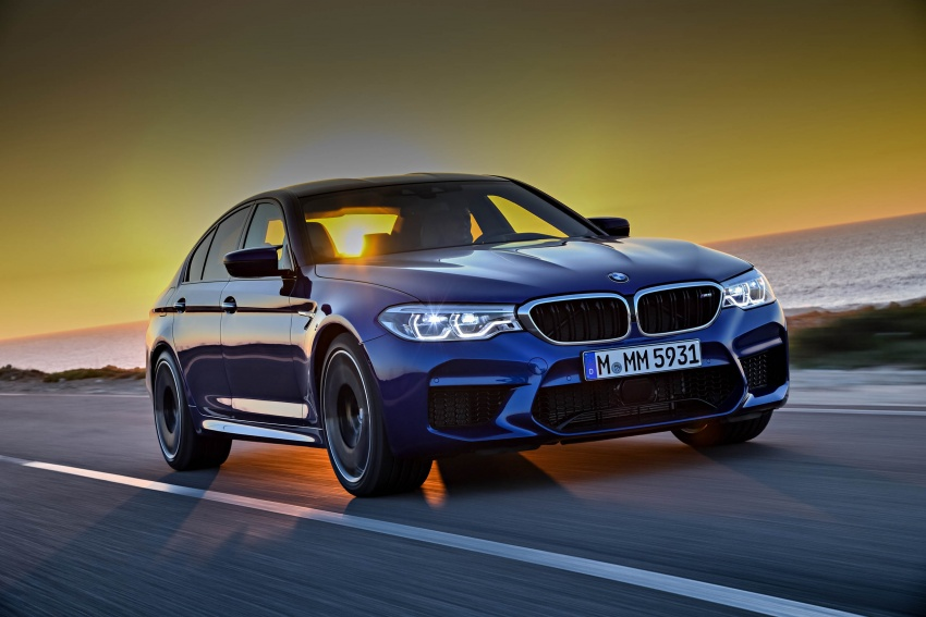 DRIVEN: F90 BMW M5 review – the quintessential Image #746249