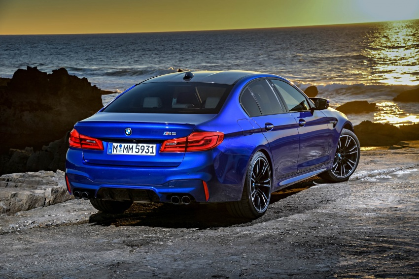 DRIVEN: F90 BMW M5 review – the quintessential Image #746261