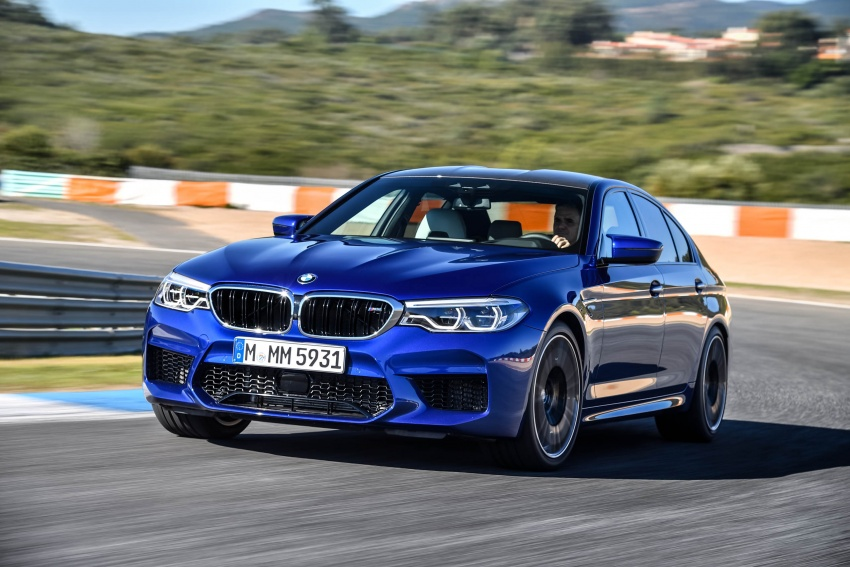 DRIVEN: F90 BMW M5 review – the quintessential Image #746263