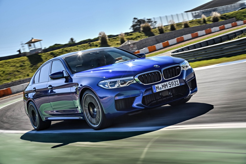 DRIVEN: F90 BMW M5 review – the quintessential Image #746264