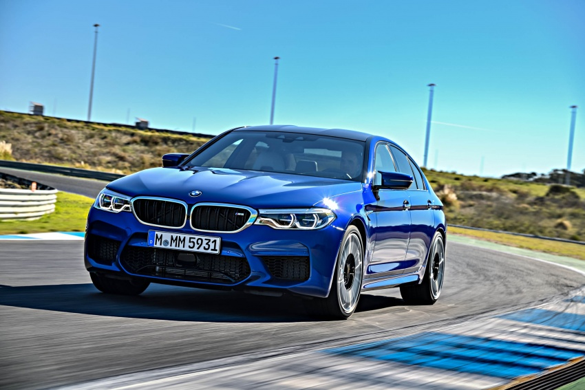 DRIVEN: F90 BMW M5 review – the quintessential Image #746266