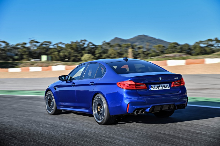 DRIVEN: F90 BMW M5 review – the quintessential Image #746267