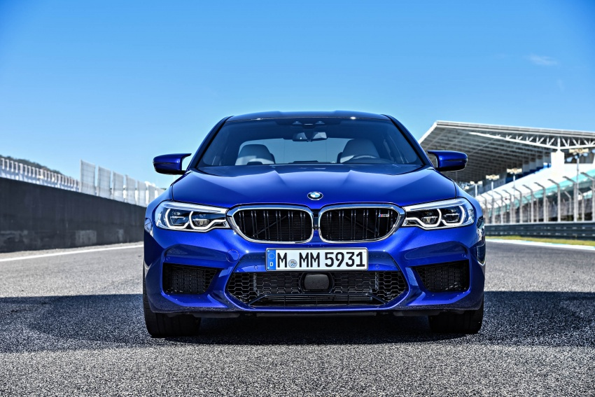DRIVEN: F90 BMW M5 review – the quintessential Image #746250