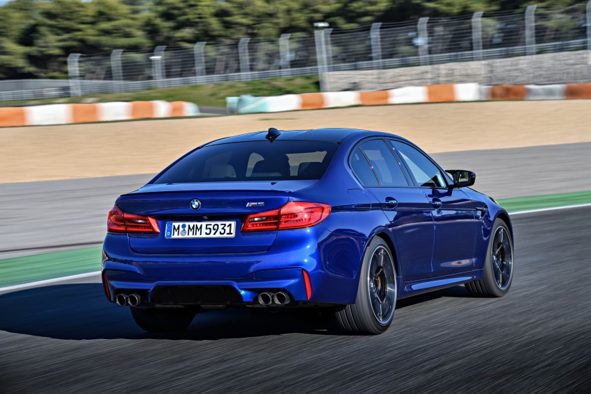 DRIVEN: F90 BMW M5 review – the quintessential Image #746268