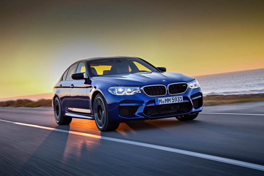 DRIVEN: F90 BMW M5 review – the quintessential Image #746269