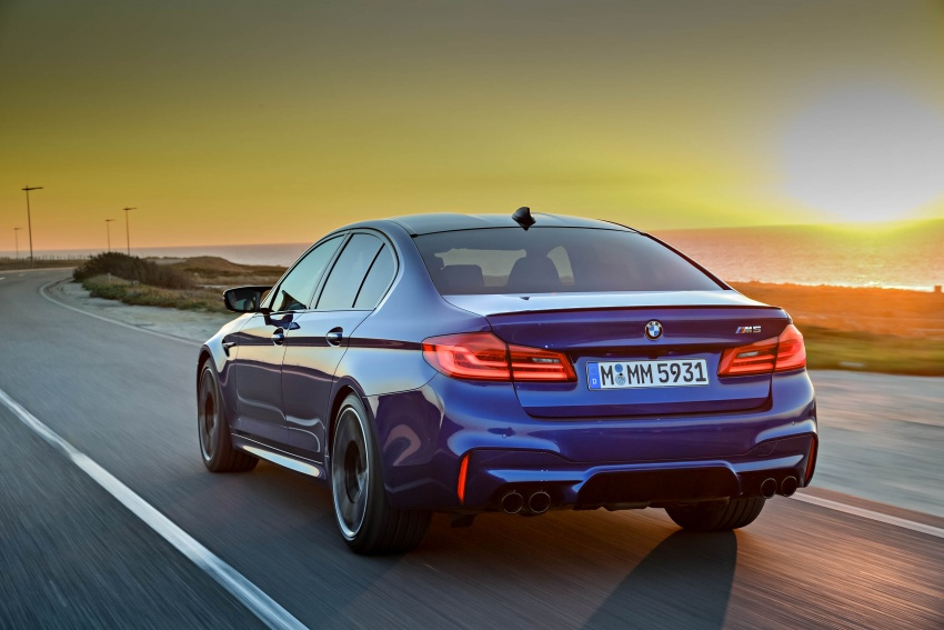 DRIVEN: F90 BMW M5 review – the quintessential Image #746270