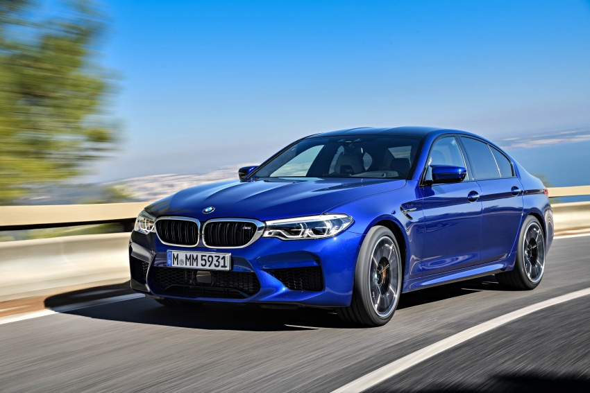 DRIVEN: F90 BMW M5 review – the quintessential Image #746271