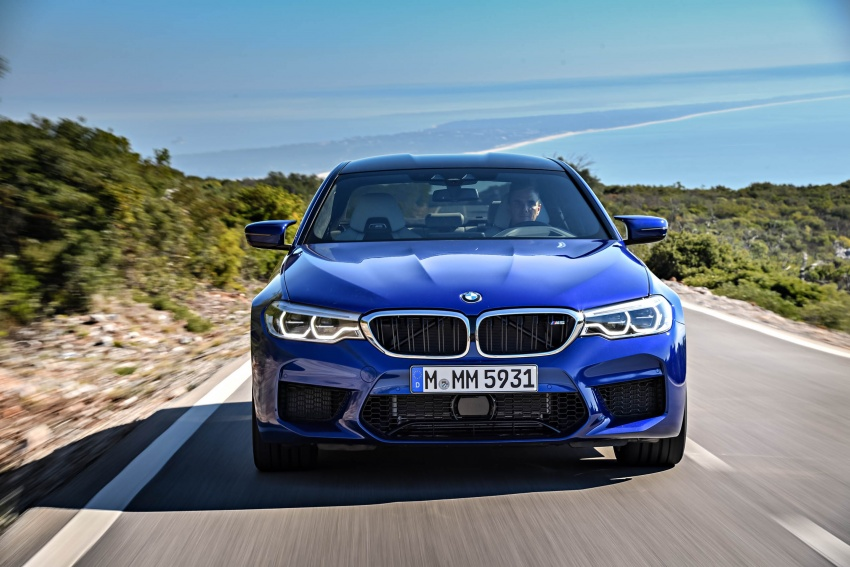 DRIVEN: F90 BMW M5 review – the quintessential Image #746272