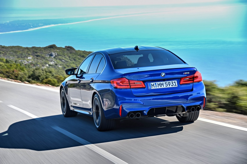 DRIVEN: F90 BMW M5 review – the quintessential Image #746273