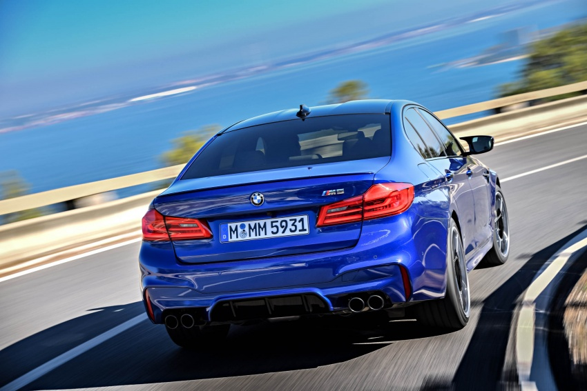 DRIVEN: F90 BMW M5 review – the quintessential Image #746274