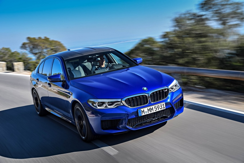 DRIVEN: F90 BMW M5 review – the quintessential Image #746275