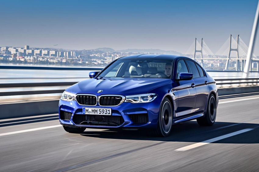 DRIVEN: F90 BMW M5 review – the quintessential Image #746277