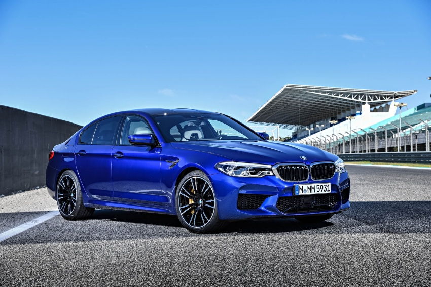DRIVEN: F90 BMW M5 review – the quintessential Image #746251