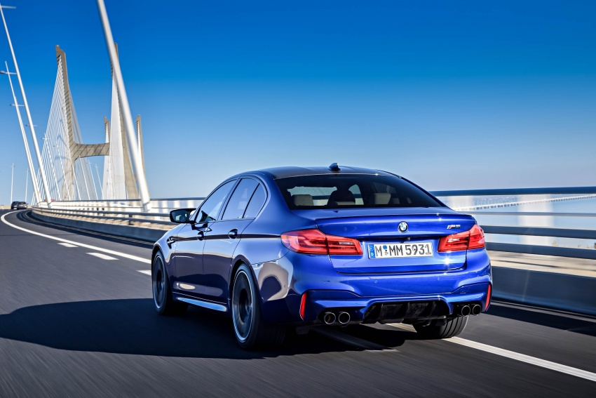 DRIVEN: F90 BMW M5 review – the quintessential Image #746278