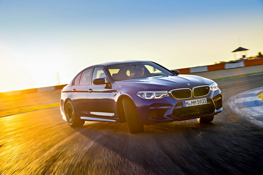 DRIVEN: F90 BMW M5 review – the quintessential Image #746279