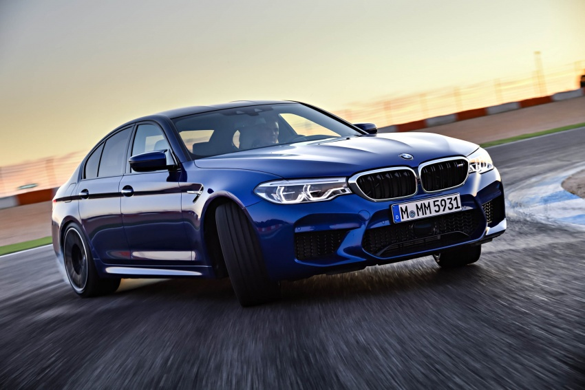 DRIVEN: F90 BMW M5 review – the quintessential Image #746280