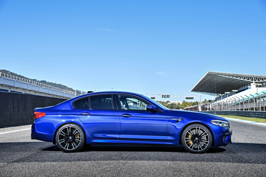 DRIVEN: F90 BMW M5 review – the quintessential Image #746252