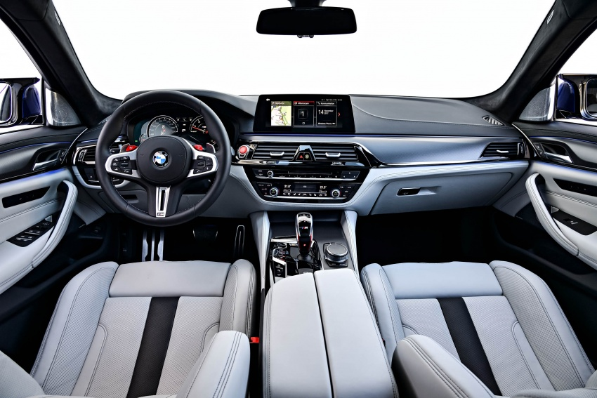 DRIVEN: F90 BMW M5 review – the quintessential Image #746292