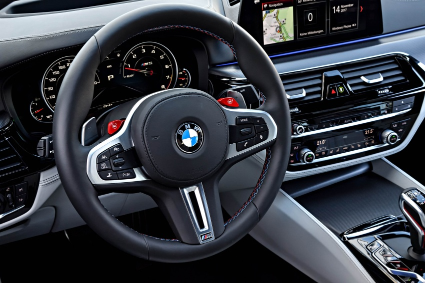 DRIVEN: F90 BMW M5 review – the quintessential Image #746294