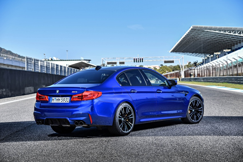 DRIVEN: F90 BMW M5 review – the quintessential Image #746253
