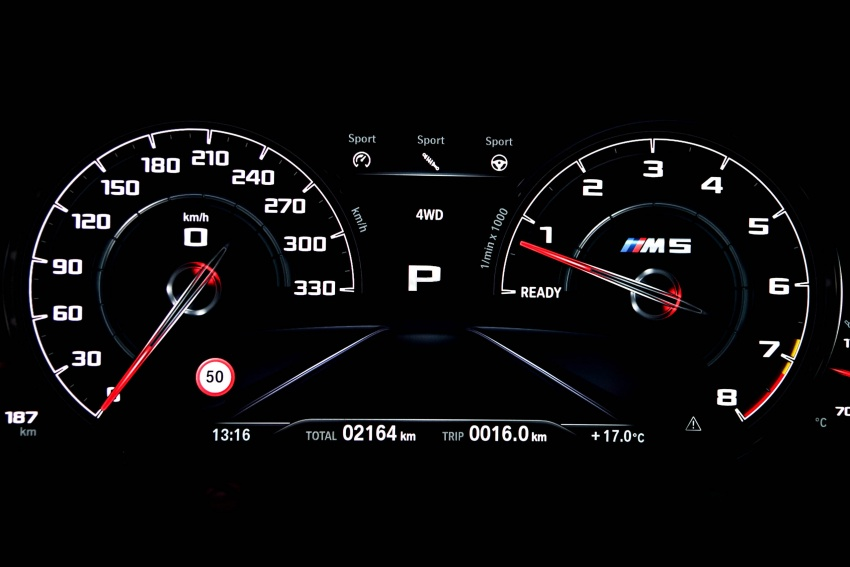DRIVEN: F90 BMW M5 review – the quintessential Image #746303