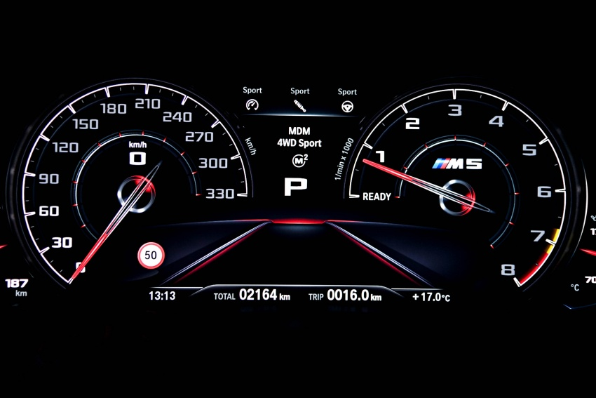 DRIVEN: F90 BMW M5 review – the quintessential Image #746304