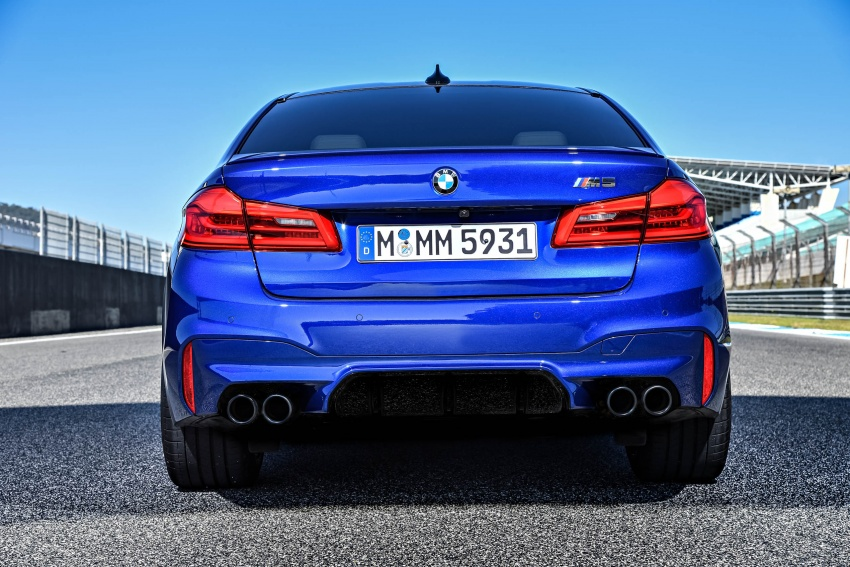 DRIVEN: F90 BMW M5 review – the quintessential Image #746254