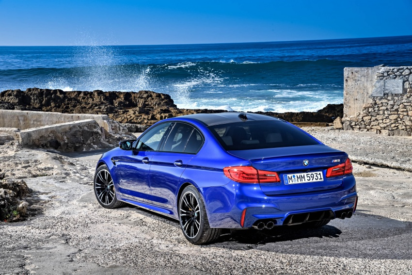 DRIVEN: F90 BMW M5 review – the quintessential Image #746255