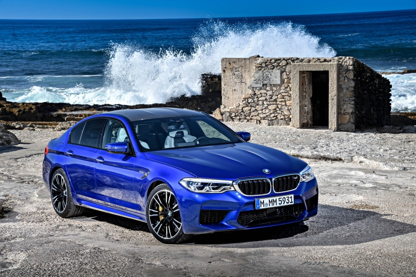 DRIVEN: F90 BMW M5 review – the quintessential Image #746256