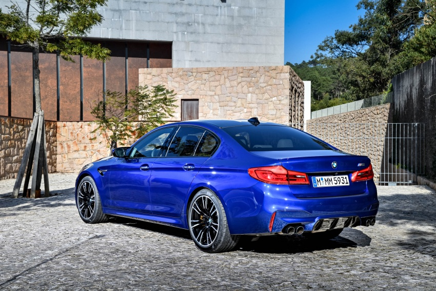 DRIVEN: F90 BMW M5 review – the quintessential Image #746257
