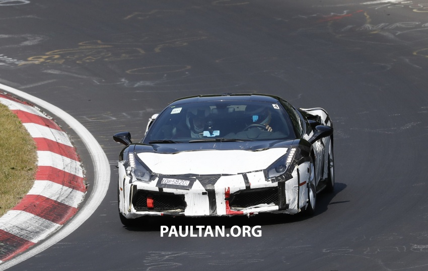 Ferrari 488 Speciale currently under development? Image #755100