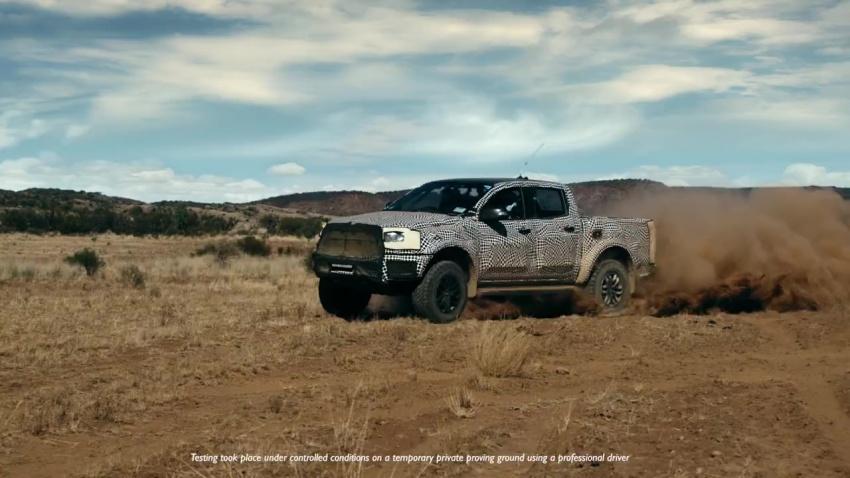 VIDEO: Ford dedah lagi video <em>teaser</em> Ranger Raptor – diberikan mod 'Baja'; bakal dijana enjin diesel? Image #749765