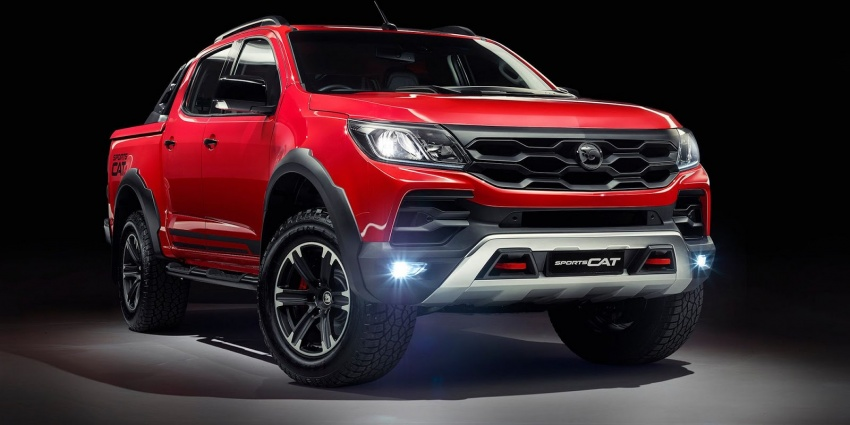 Holden Colorado SportsCat by HSV – Chevy truck gets chassis, cosmetic, off-road upgrades Down Under Image #750573