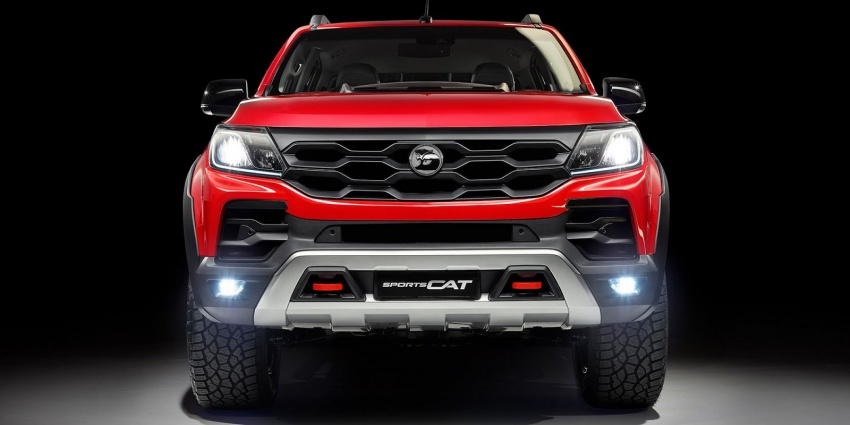 Holden Colorado SportsCat by HSV – Chevy truck gets chassis, cosmetic, off-road upgrades Down Under Image #750575