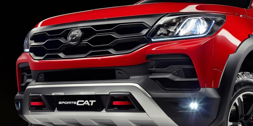 Holden Colorado SportsCat by HSV – Chevy truck gets chassis, cosmetic, off-road upgrades Down Under Image #750578