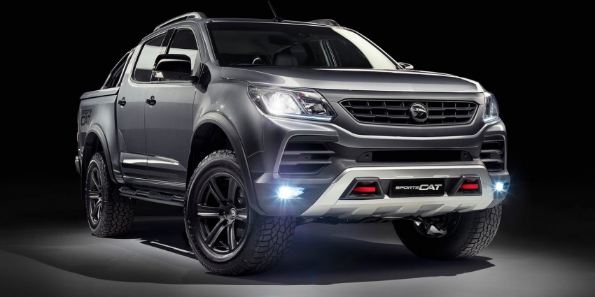 Holden Colorado SportsCat by HSV – Chevy truck gets chassis, cosmetic, off-road upgrades Down Under Image #750589
