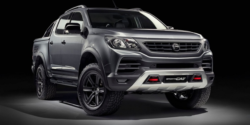 Holden Colorado SportsCat by HSV – Chevy truck gets chassis, cosmetic, off-road upgrades Down Under Image #750590
