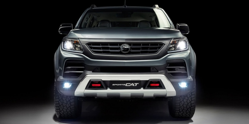 Holden Colorado SportsCat by HSV – Chevy truck gets chassis, cosmetic, off-road upgrades Down Under Image #750591