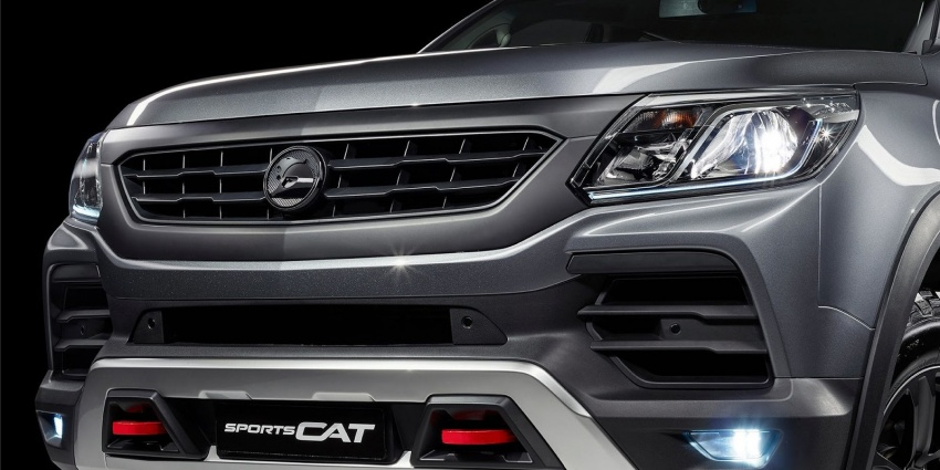 Holden Colorado SportsCat by HSV – Chevy truck gets chassis, cosmetic, off-road upgrades Down Under Image #750595