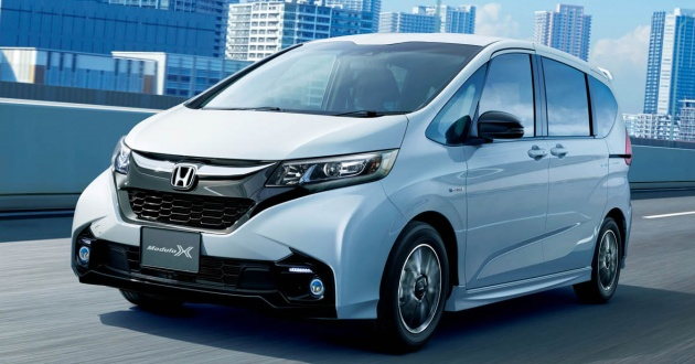 Honda Freed Modulo X Officially Launched In Japan