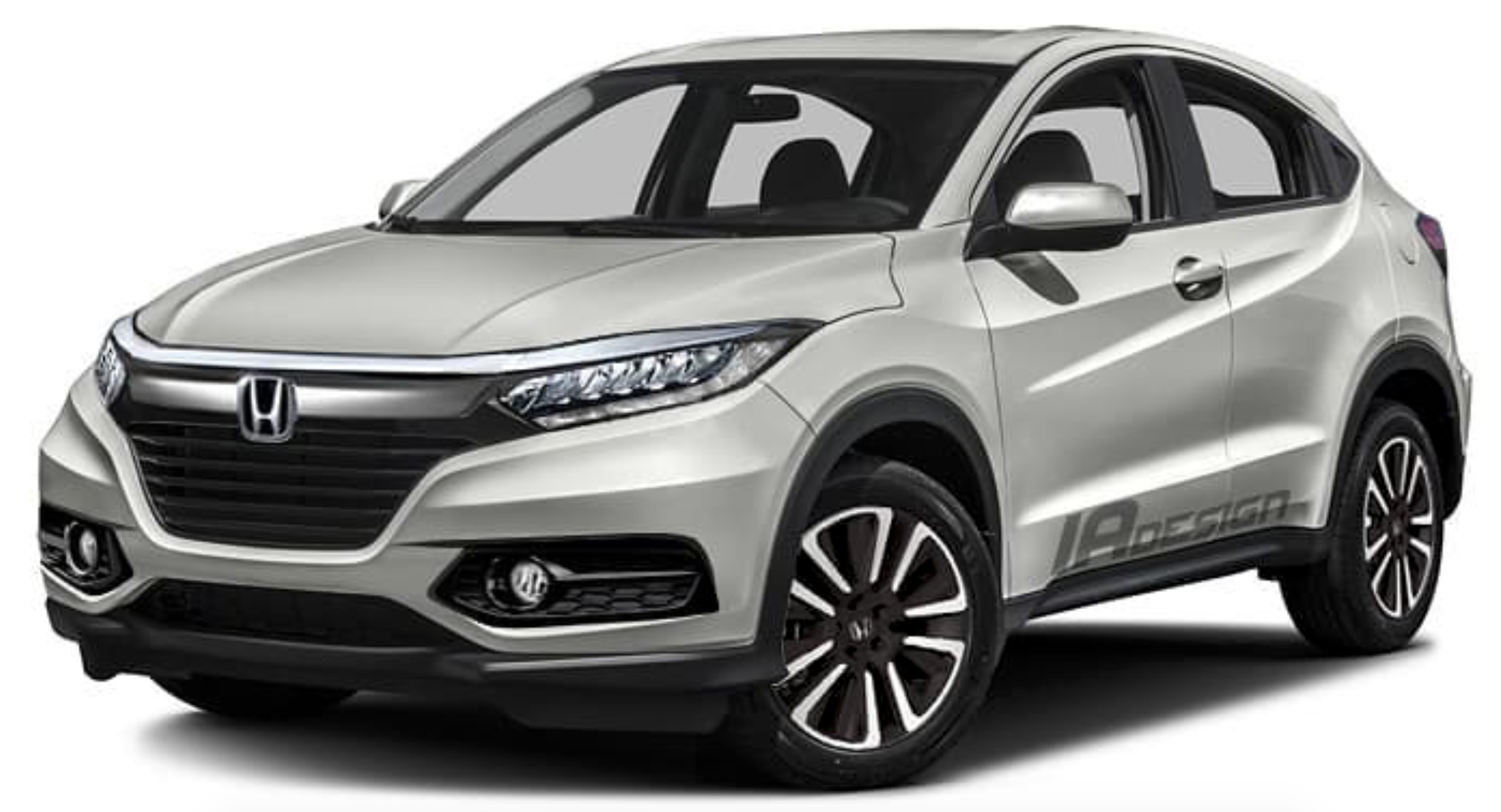 Honda hr v facelift rendered new led lights grille for Honda hrv lease
