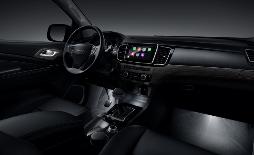 Isuzu MU-X facelift debuts in China with new interior Image #754272