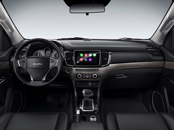 Isuzu MU-X facelift debuts in China with new interior Image #754273