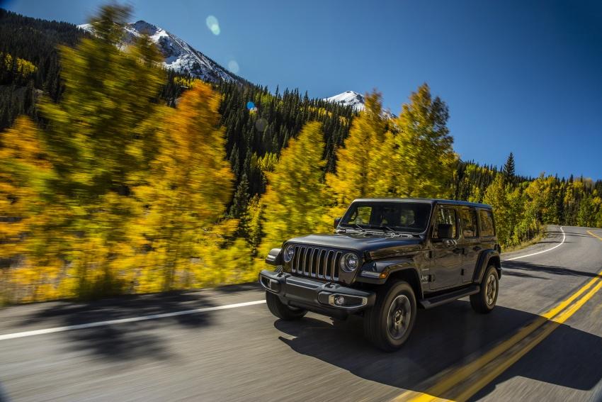 2018 Jeep Wrangler gains new hybrid turbo engine Image #748161