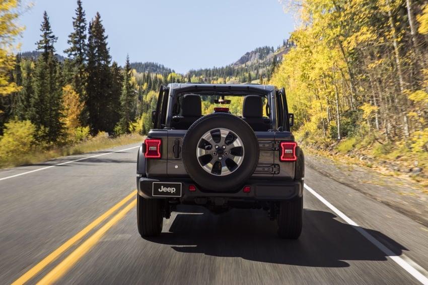 2018 Jeep Wrangler gains new hybrid turbo engine Image #748164